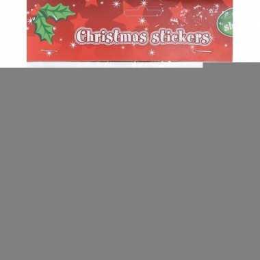 10x houten kerst knijpers rendier/kerstsok met koord