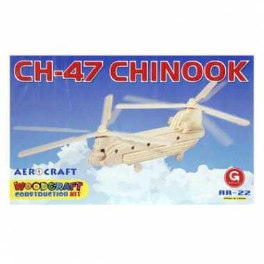 Feest 3d vliegtuig bouwpakket