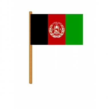 Feest afghanistan zwaaivlaggen