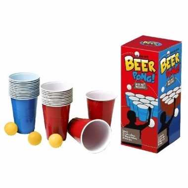 Feest american red cups beer pong 10094830