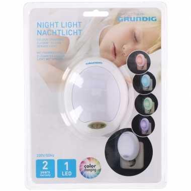 Babykamer nachtlampjes kleur led