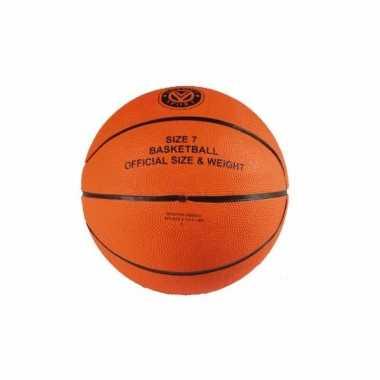 Feest baketballen met officiele bal
