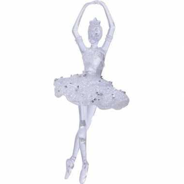 Feest ballerina kerstballen hangdecoratie kerstversiering 17 cm 10111202
