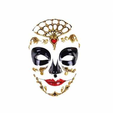 Feest barok masker day of the dead