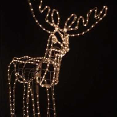 Bewegende rendieren voor kerst