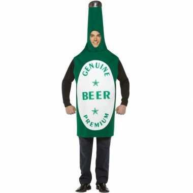 Feest bierfles verkleed kostuum 10045726