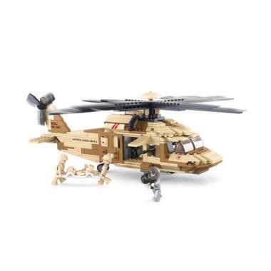 Feest black hawk helikopter bouwsteentjes