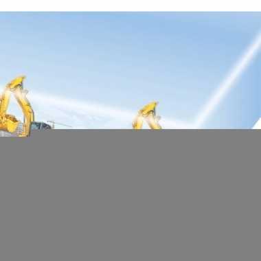Feest bouwvakker thema tafelkleed 120 x 180 cm