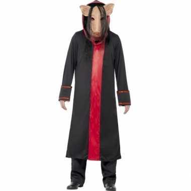 Carnaval saw pig kostuum
