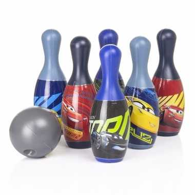 Feest cars bowlingset 7 delig