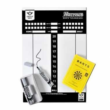 Feest complete darten scorebord set