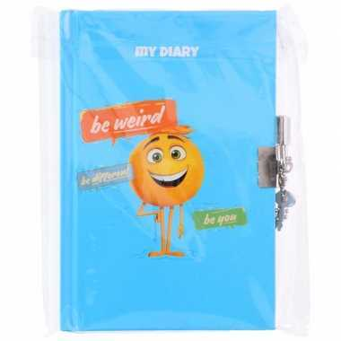Feest dagboek met slot voor kinderen