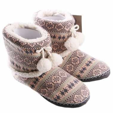 cbb2fe7ea33 Dames pantoffels nordic roze