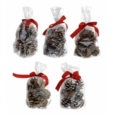 Feest decoratie dennenappels 50 gram