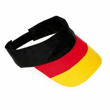 Duitsland supporters zonneklep