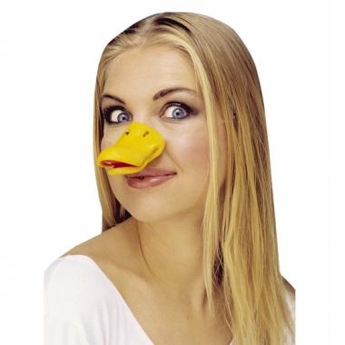 Feest eenden neus geel