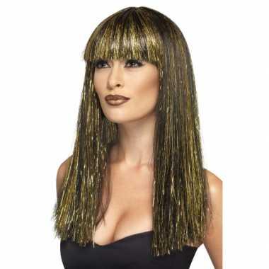 Feest egyptische godin dames pruik