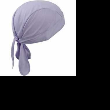 Feest fitness bandana lila