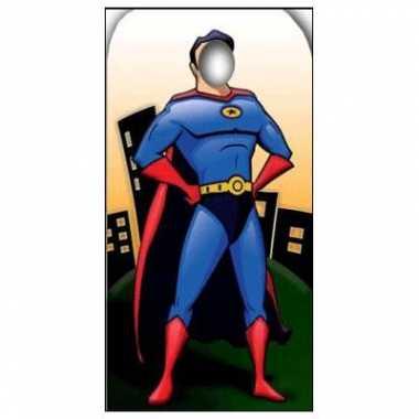 Feest fotoborden superheld