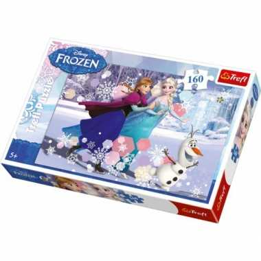Feest frozen puzzel 160 stukjes