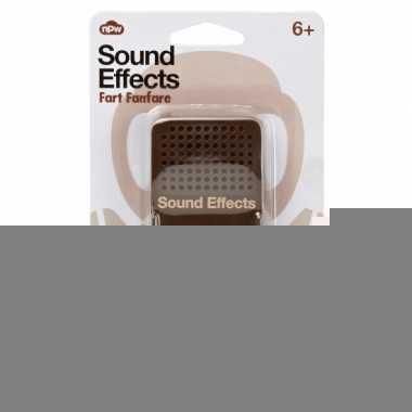 Feest fun button met scheet geluiden