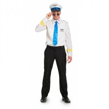 Feest funny piloot kostuum voor heren