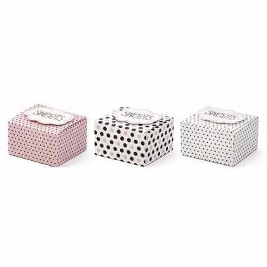 Feest giftboxes sweets 6 stuks