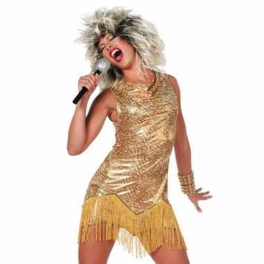 Feest gouden party jurkjes