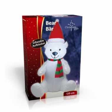 Feest grote opblaas kerstbeer