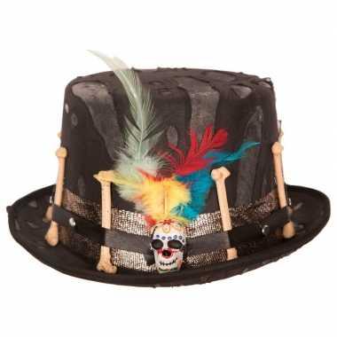 Halloween - day of the dead hoed voor volwassenen