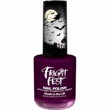 Halloween/horror paarse nagellak 10 ml