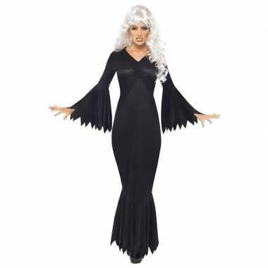 Halloween vampieren jurk zwart voor dames