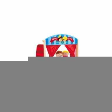Feest handpoppen poppen theater 63 x 23 x h51 5 cm