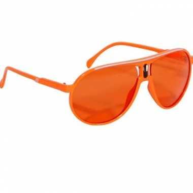 88d51aa5a2963e Hippe oranje bril met oranje glazen