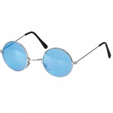 c640b0abe6e985 Hippie bril blauwe glazen