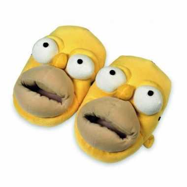 c0902a2bfcc Homer simpsons gezicht sloffen | Feestwinkel-online.nl