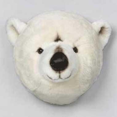 Feest ijsberenkop pluche