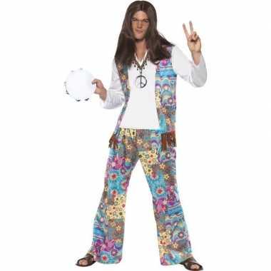 Feest jaren 60 hippie kostuum groovy voor heren