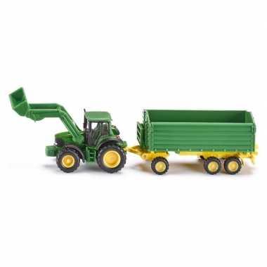 Feest john deere speelgoed tractor van metaal