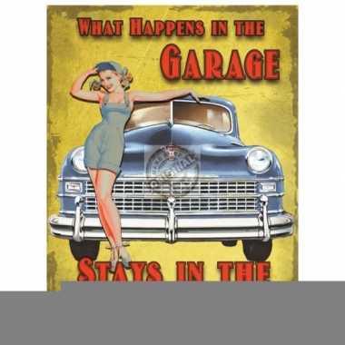Feest kado voor mannen de garage