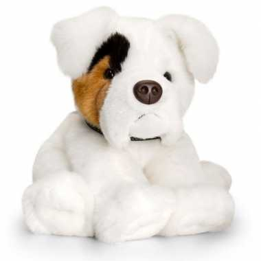 Feest keel toys pluche boxer hond knuffel 35 cm