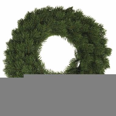 Feest kerst decoratie krans 30 cm