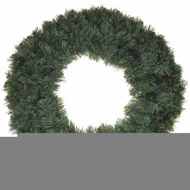 Feest kerstkrans dennentakjes 50 cm
