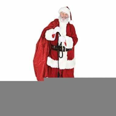 Feest kerstman decoratiebord