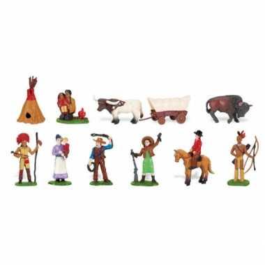 Feest kinder speelgoed indianen en cowboys