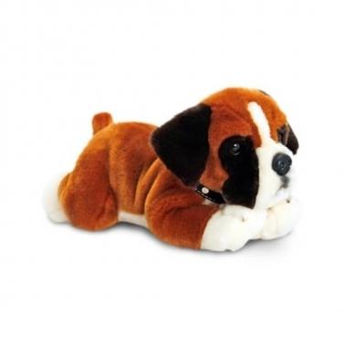 Feest knuffel boxer puppy 35 cm