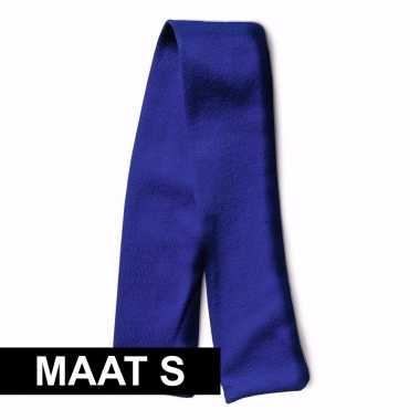 Feest knuffelkleding maat s sjaal blauw