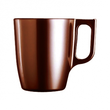 Feest koffie beker bruin