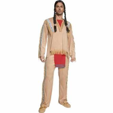 Feest kostuum indiaan voor heren