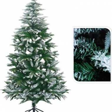 Kunst kerstbomen met sneeuw 180 cm